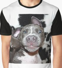 Silly, Baby, Blue Pit Bull Puppy Dog  Graphic T-Shirt