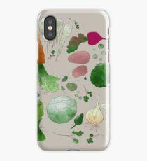 Winter Vegetables iPhone Case/Skin