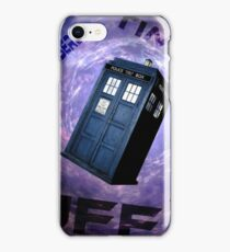 Timey Wimey Stuff iPhone Case/Skin