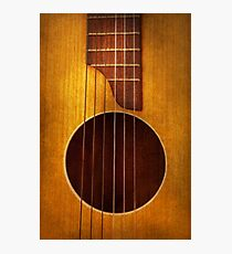 Instrument - String - Let's play some music  Photographic Print