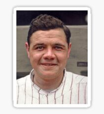 Colorization - Babe Ruth Sticker