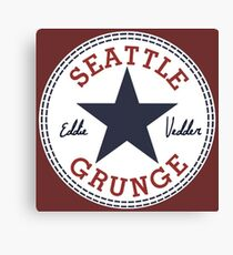 Seattle Grunge All Star Canvas Print