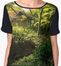 The Six Principles of Poetry Chiffon Top