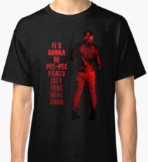Next stop: Pee-Pee Pants City Classic T-Shirt