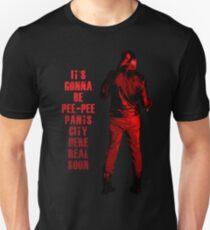 Next stop: Pee-Pee Pants City Unisex T-Shirt