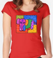 Elephantastic reloaded Women's Fitted Scoop T-Shirt