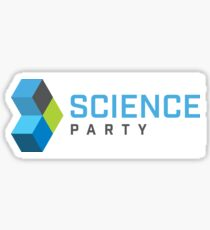 Science Party Australia (Light) Sticker