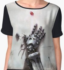 Fullmetal Alchemist Brotherhood - Metal Arm & Philosopher's Stone Chiffon Top