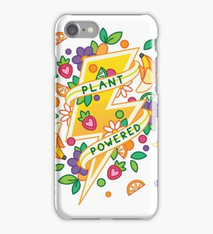 Plant Powered iPhone Case/Skin