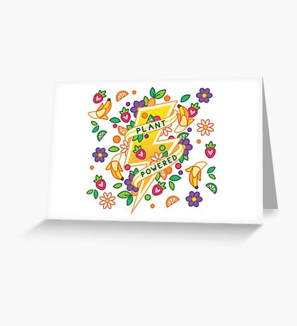 Plant Powered Greeting Card