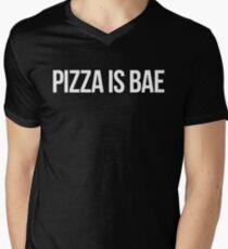 PIZZA IS BAE Men's V-Neck T-Shirt