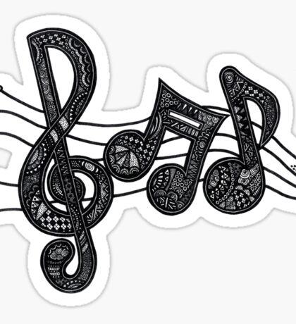 Music Notes Sticker