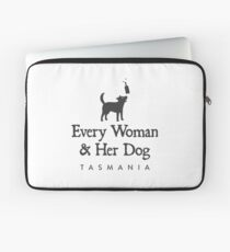 Every Woman & Her Dog Laptop Sleeve
