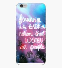 Feminism is the radical notion that women are people iPhone Case