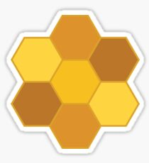 Honeycomb Sticker Sticker
