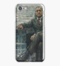 Frank Underwood House of Cards Painting iPhone Case/Skin