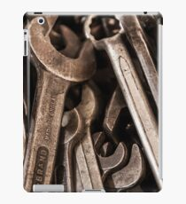 Spanners in the works iPad Case/Skin