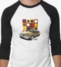 T-shirt Car Art - Citroen SM Men's Baseball ¾ T-Shirt
