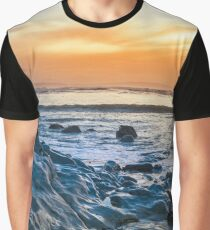 grey rocks at rocky beach Graphic T-Shirt