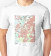 USGS TOPO Map New Jersey NJ Caldwell 254225 1995 24000 Unisex T-Shirt
