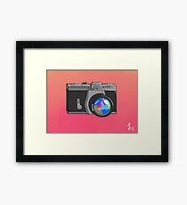 Minolta Sniper Framed Print
