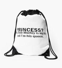 Bob Morley | Princess? King-Queen Drawstring Bag