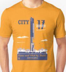 City 17 Travel Poster  T-Shirt