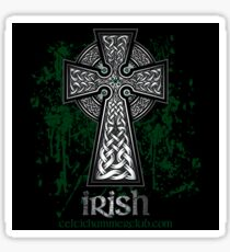 Irish Celtic Cross Sticker