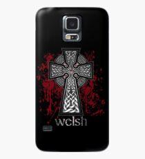 Welsh Celtic Cross Case/Skin for Samsung Galaxy