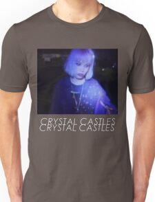 Crystal Castles Alice VHS filter coloradjust 3 Unisex T-Shirt