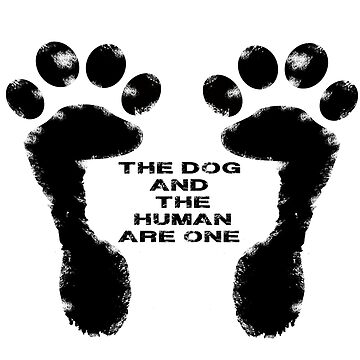 The dog and the human are one by chumi