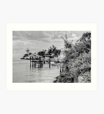Eastern Road Lighthouse in Nassau, The Bahamas Art Print