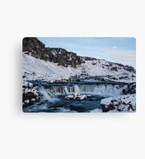 Icelandic River Canvas Print