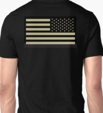 AMERICAN ARMY, Soldier, American Military, Arm Flag, US Military, IR, Infrared, USA, Flag T-Shirt