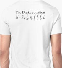 Aliens, The Drake equation, SETI, Alien, search for extraterrestrial life, Contact, Is there anyone there? T-Shirt