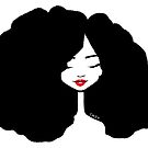 Big Hair by Chey (red lips) by tallncurly