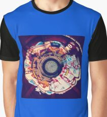 Stereographic Train Graffiti Graphic T-Shirt