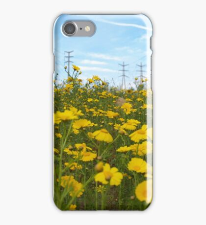 electric daisies iPhone Case/Skin
