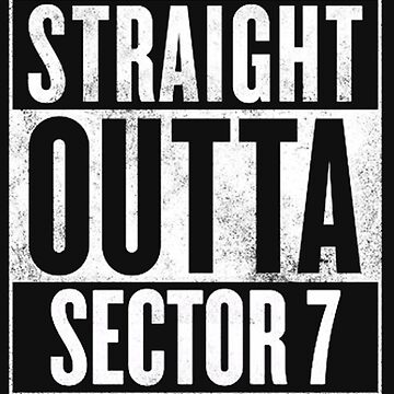 Straight Outta Sector 7 - Final Fantasy VII by thethirddriv3r