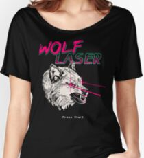Wolf Laser Women's Relaxed Fit T-Shirt