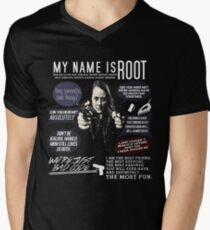 Root - Person of interest - Amy Acker T-Shirt