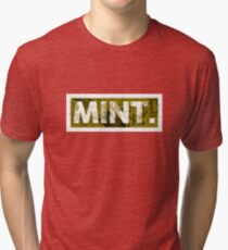 Mint. | Yellow Tri-blend T-Shirt