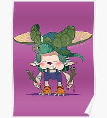 Yoshiki and Capitan Poster