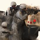 82nd Firefight by 1SG Little Top