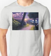 Path to Sunset Sea Unisex T-Shirt