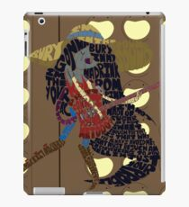 I'm just your problem - background iPad Case/Skin