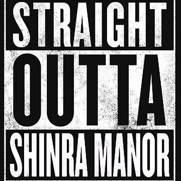 Straight Outta Shinra Manor - Final Fantasy VII by thethirddriv3r