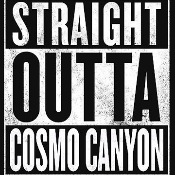 Straight Outta Cosmo Canyon - Final Fantasy VII by thethirddriv3r