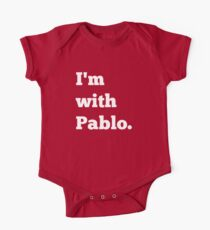 I'm With Pablo Short Sleeve Baby One-Piece
