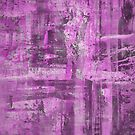 Abstract Study in Purple, pink and black by Printpix